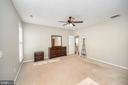 Another view of just how spacious this master is - 623 MT PLEASANT DR, LOCUST GROVE