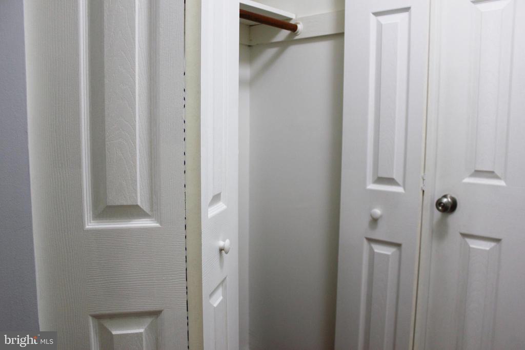 Second Master Bedroom Closet - 102 DUVALL LN #4-104, GAITHERSBURG