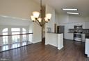 large space for a dining area - 8 RIDGE POINTE LN, FREDERICKSBURG