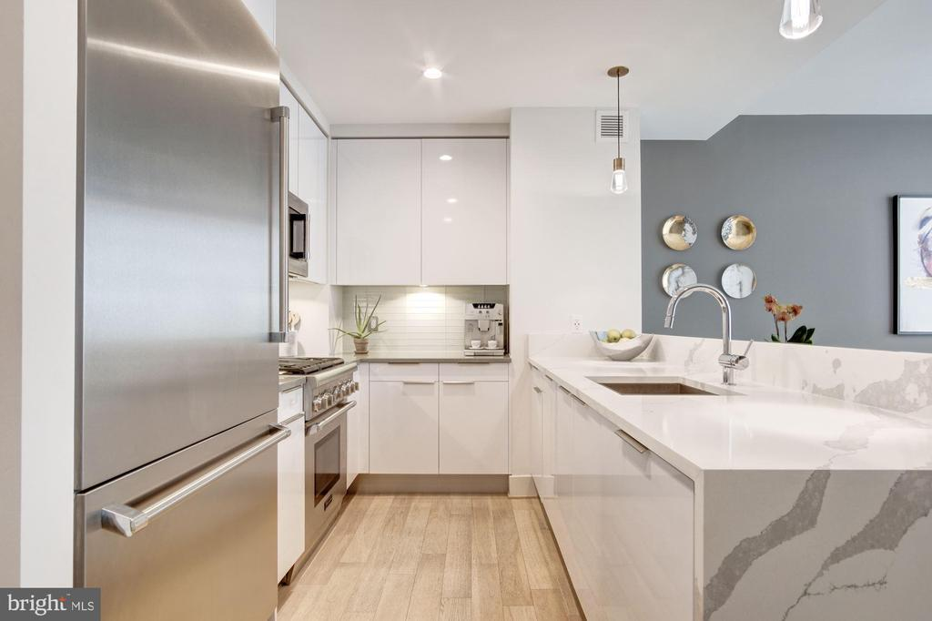 Beautiful gourmet kitchen - 45 SUTTON SQ SW #1116, WASHINGTON
