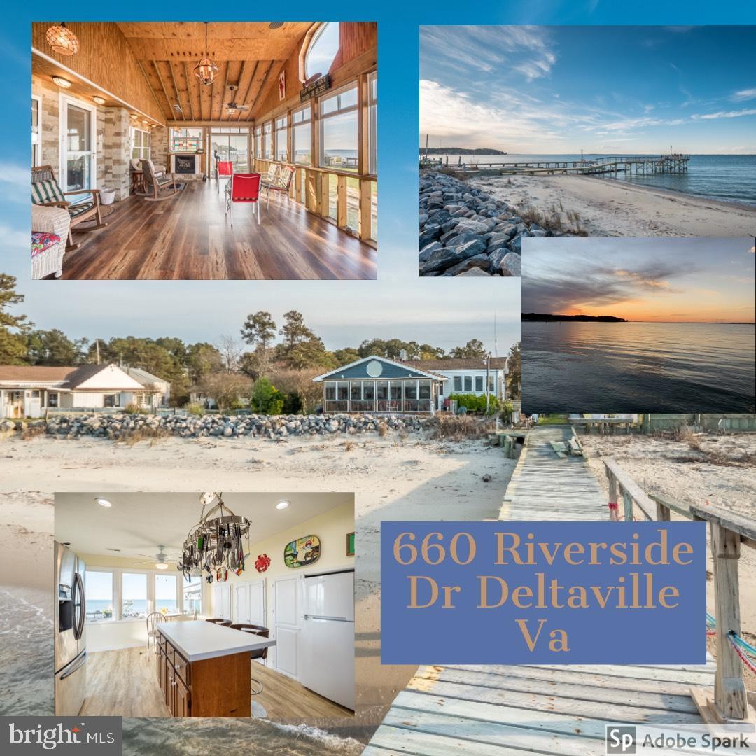 Single Family Homes 為 出售 在 Deltaville, 弗吉尼亞州 23043 美國