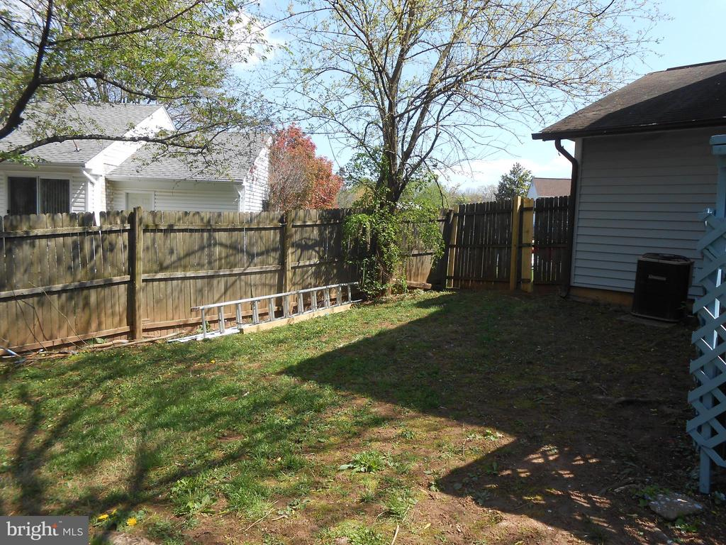 Rear Yard - 7702 BRANDON WAY, MANASSAS