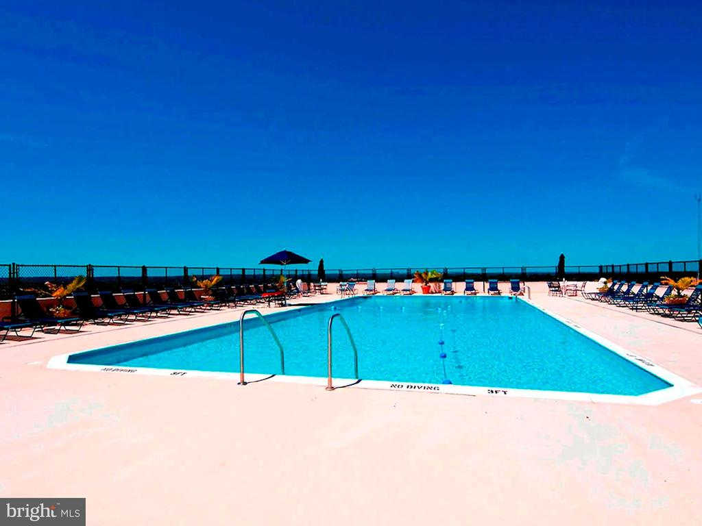 Rooftop Pool - 4515 WILLARD AVE #1618S, CHEVY CHASE