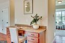 Kitchen desk - 98 GREAT LAKE DR, ANNAPOLIS