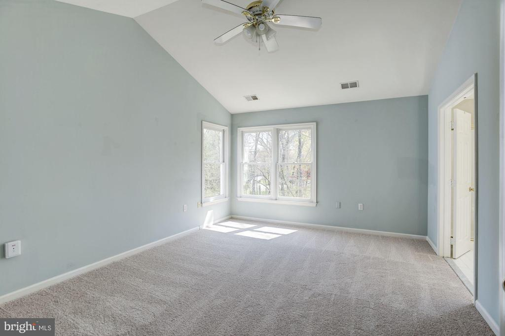 Master bedroom with lot of windows - 2421 MILL HEIGHTS DR, HERNDON