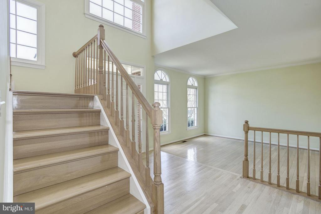 Beautiful foyer area with lot of light - 2421 MILL HEIGHTS DR, HERNDON