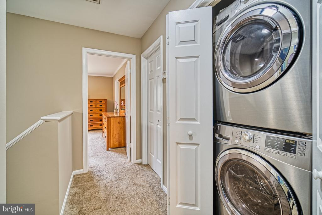Upper level laundry~closet - 10001 WISAKON TRL, MANASSAS