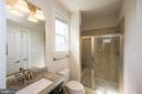 Full Bathroom on Main level. - 26600 MARBURY ESTATES DR, CHANTILLY