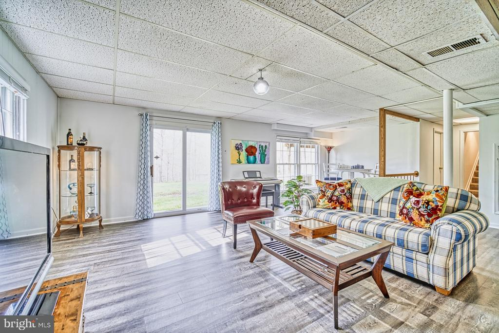 Tons of natural light in the basement - 11610 HENDERSON RD, CLIFTON