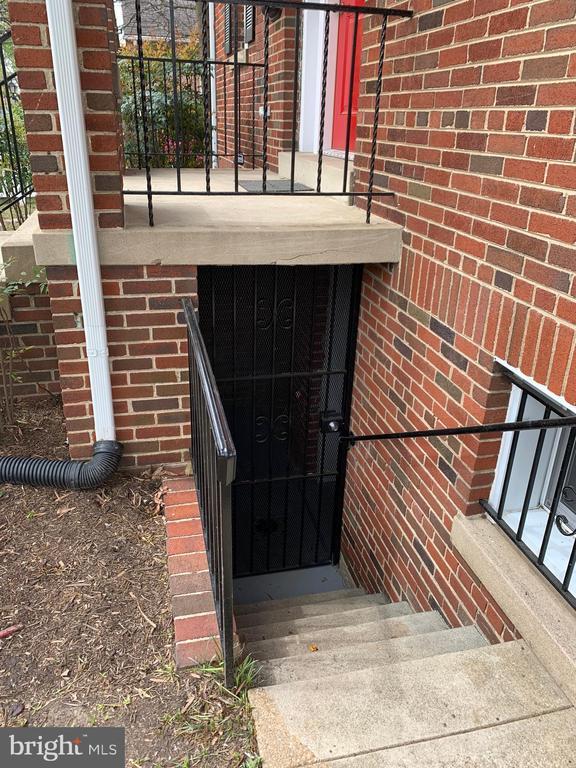 Basement Entrance - 3112 ALABAMA AVE SE, WASHINGTON