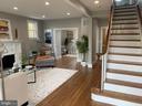 Foyer & Living Room - 3112 ALABAMA AVE SE, WASHINGTON