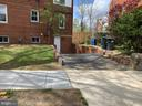 Side Basement Entrance & Driveway - 3112 ALABAMA AVE SE, WASHINGTON