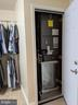 Separate HVAC off Master Bedroom Closet - 9301 OLD SCAGGSVILLE RD, LAUREL