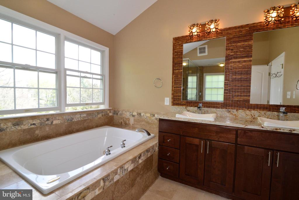 Double vanity and granite counters - 13247 MIDDLETON FARM LN, HERNDON