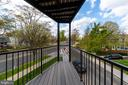 First Patio on the first floor - 5700 BLAIR RD NE, WASHINGTON