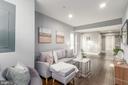 Basement living room - 5700 BLAIR RD NE, WASHINGTON