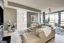 Living Room Area with Floor to Ceiling Windows! - 12025 NEW DOMINION PKWY #103, RESTON