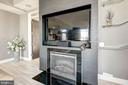 One-of-a kind hand welded fireplace - 12025 NEW DOMINION PKWY #103, RESTON