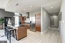 State-of-the-art chefs kitchen w/high end Appls. - 12025 NEW DOMINION PKWY #103, RESTON