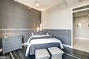 Custom painted room w/Italian Tile Floorings. - 12025 NEW DOMINION PKWY #103, RESTON