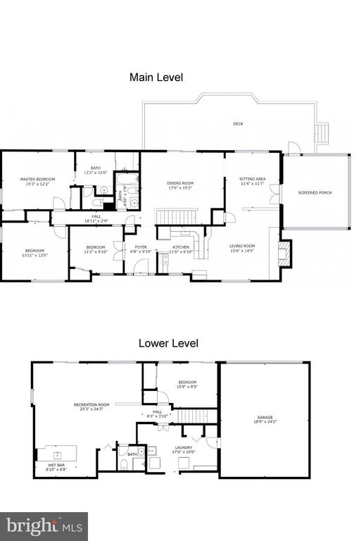 Floor plans - 11610 HENDERSON RD, CLIFTON