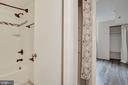 Linen closet and entry to guest bath - 1001 N VERMONT ST #310, ARLINGTON