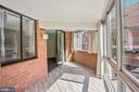 Entry to master from sunroom - 1001 N VERMONT ST #310, ARLINGTON