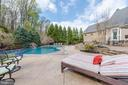 Patio and Saltwater Pool - 5222 SWEET MEADOW LN, CLARKSVILLE