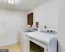 Lower Level Laundry Room - 7924 BUTTERFIELD DR, ELKRIDGE