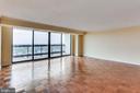 Living Room New Sliding Doors - 3800 FAIRFAX DR #1512, ARLINGTON