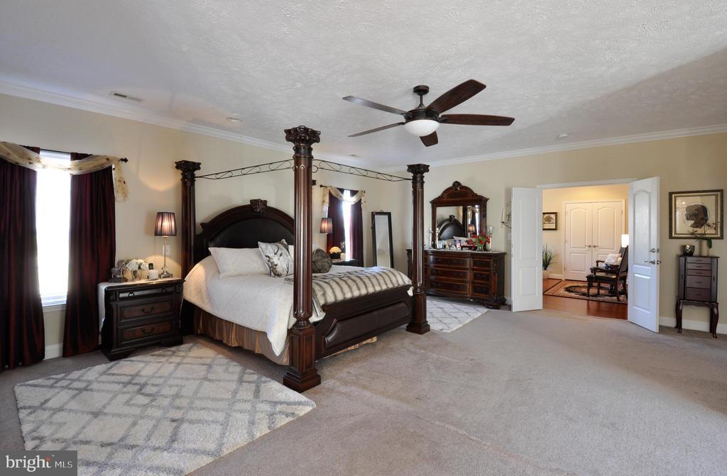 Master Bedroom - Upper Level - 10636 CATHARPIN RD, SPOTSYLVANIA
