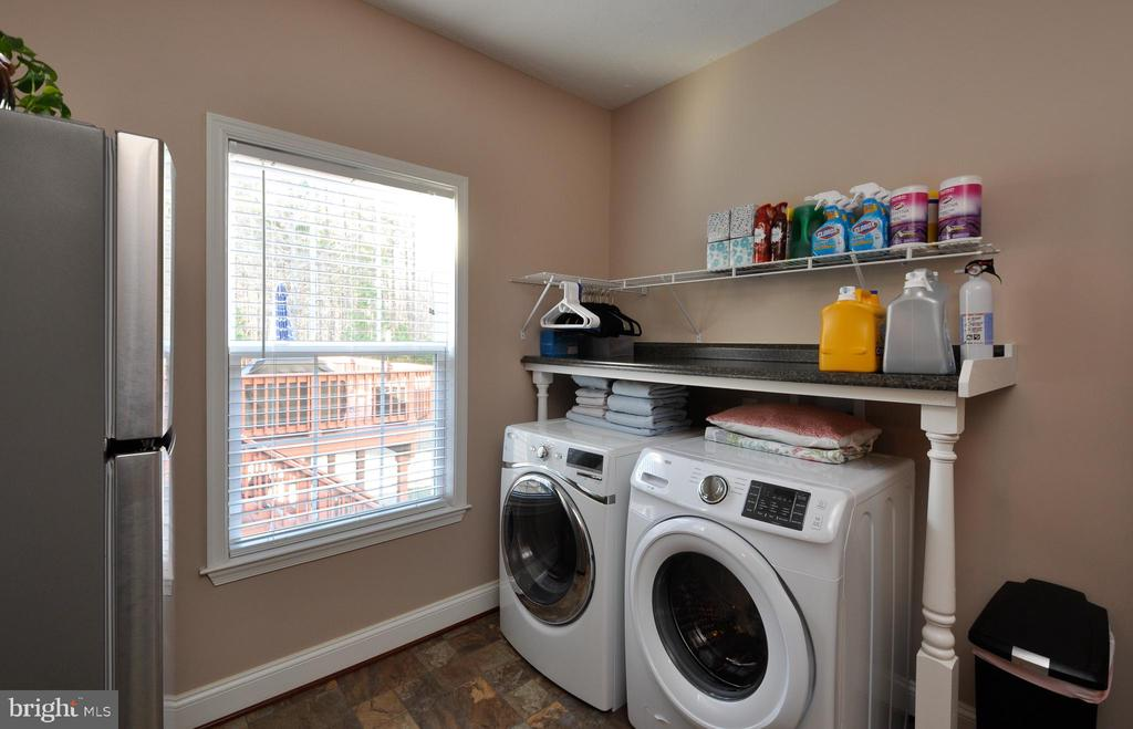 Laundry Room- Right Wing of Home - 10636 CATHARPIN RD, SPOTSYLVANIA