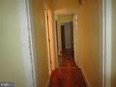 hallway - 146 PRINCE GEORGE ST, ANNAPOLIS