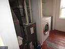 laundry and furnace room - 146 PRINCE GEORGE ST, ANNAPOLIS