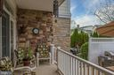 Rear tiered patio - 8733 ENDLESS OCEAN WAY #32, COLUMBIA