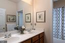 Full bath with double sinks - 8733 ENDLESS OCEAN WAY #32, COLUMBIA