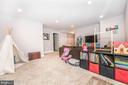 Example of finished basement. - 4736 OLD MIDDLETOWN RD, JEFFERSON