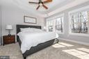 Master bedroom. - 4736 OLD MIDDLETOWN RD, JEFFERSON