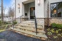 Front Portico - 1936 FRANKLIN AVE, MCLEAN