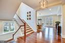 Staircase - 1936 FRANKLIN AVE, MCLEAN