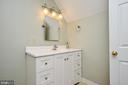 Full bath upstairs - 437 WINDWOOD LN, PARIS
