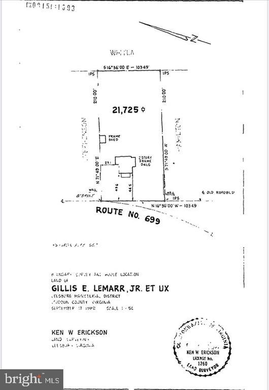 Property plat 17350 Dry Mill Rd, Leesburg. - 17350 DRY MILL RD, LEESBURG