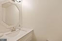 Upgraded Half Bath - 3005 SEVEN OAKS PL, FALLS CHURCH