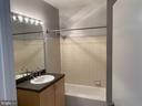 Bath with plenty of storage - 1414 BELMONT ST NW #309, WASHINGTON