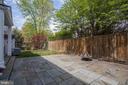 Rear Patio and Yard - 1301 19TH RD S, ARLINGTON