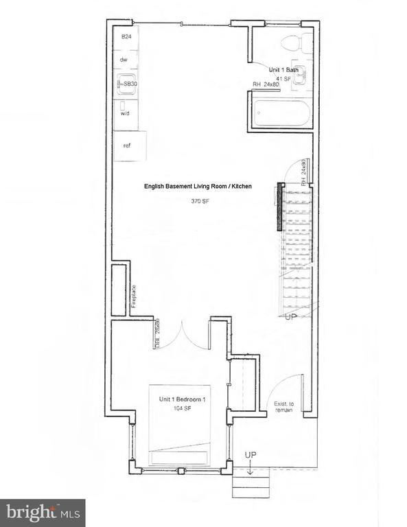 Moore Construction Plans: English Basement Rental - 601 NORTH CAROLINA AVE SE, WASHINGTON