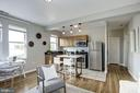 Open & inviting floor plan - 4120 14TH ST NW #44, WASHINGTON