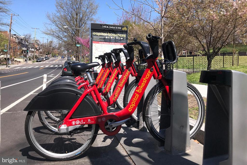 Capital Bikeshare practically out your front door - 4120 14TH ST NW #44, WASHINGTON