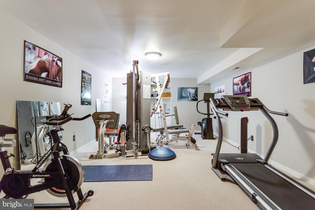 Plenty of room for all your equipment! - 10892 HUNTER GATE WAY, RESTON