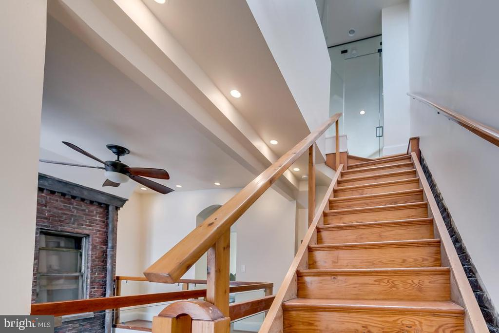 Stairs Leading to the Master Suite - 1827 S ST NW, WASHINGTON